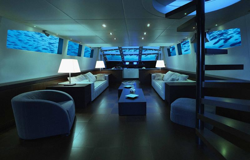 You can join the Mile-Low Club on this submarine hotel