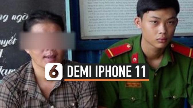 VIDEO: Tante Rela Jual Keponakan demi iPhone 11