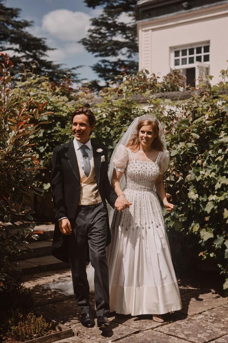 Princess Beatrice's Wedding Tiara from Queen Elizabeth Was Chosen for This Reason