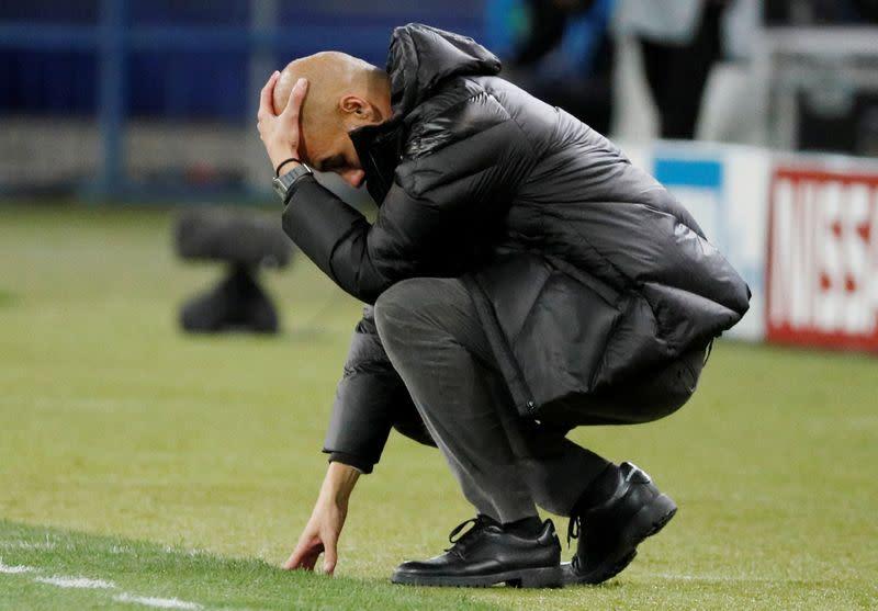 FILE PHOTO: Champions League - Group C - Shakhtar Donetsk v Manchester City