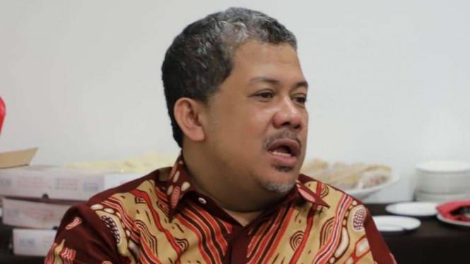 Fahri Hamzah Mengaku Sarankan Jokowi Tak Buat Omnibus LawCipta Kerja