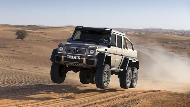 Mercedes-Benz reveals the G63 AMG 6×6, a six-wheel-drive luxo SUV