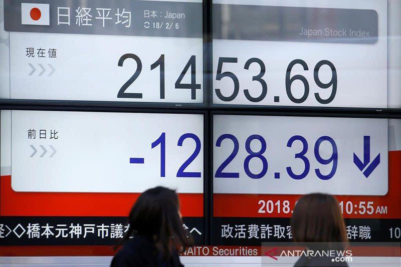 Saham Tokyo ditutup jatuh, tertekan penguatan yen pasca-kebijakan Fed