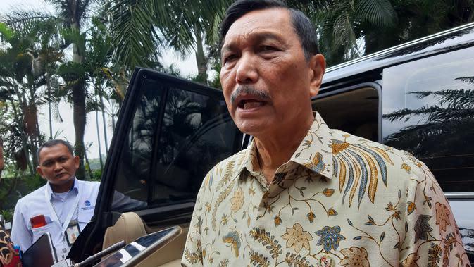 Menteri Koordinator Bidang Kemaritiman dan Investasi Luhut Pandjaitan. Dok: Tommy Kurnia/Liputan6.com