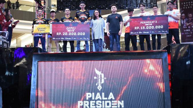 Final Kualifikasi Regional Indonesia Timur Piala Presiden e-sports 2020 digelar di Grand Atrium Pakuwon Mall, Surabaya, Jawa Timur pada 11-12 Januari 2020. (Foto: Liputan6.com/Dian Kurniawan)