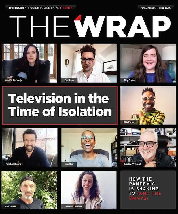 thewrap emmy magazine 2020