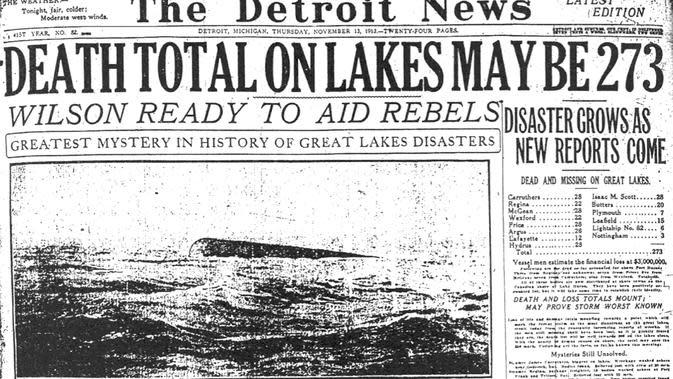Badai dahsyat Great Lakes (Wikipedia)
