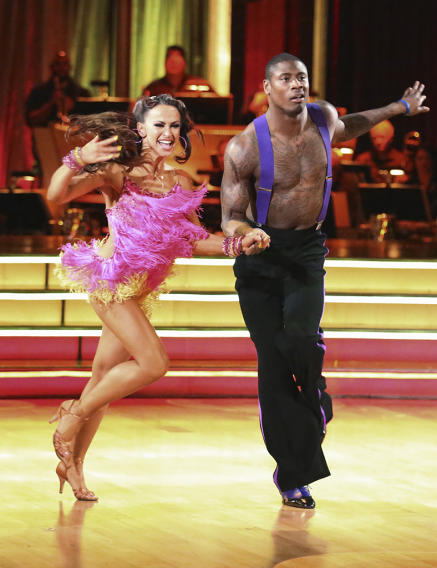 Karina Smirnoff and Jacoby Jones (4/15/13)