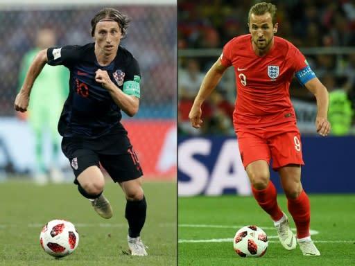 Midfielder Luka Modric makes Croatia tick while Harry Kane has scored six times for England