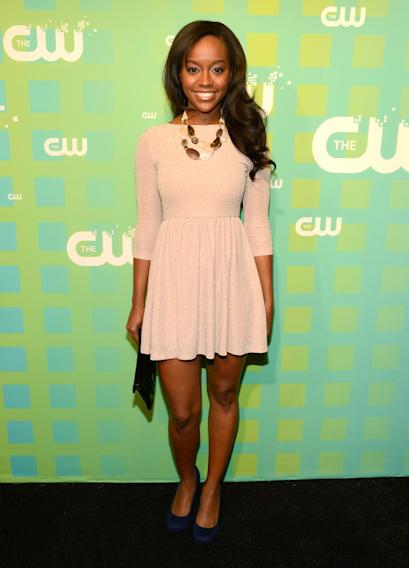 The CW 's 2012 Upfront - Aja Naomi King