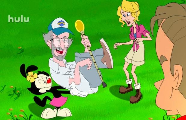 Hulu's 'Animaniacs' First Look: Spielberg Uses 'Jurassic Park' Tech to Revive Yakko, Wakko and Dot (Video)