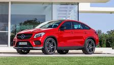 2017 M-Benz GLE Coupe