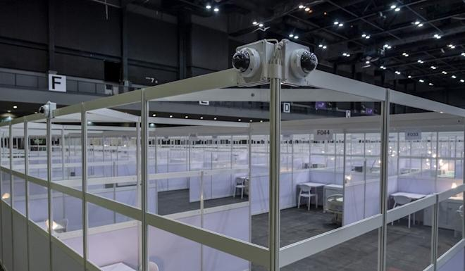 Surveillance cameras are installed within the facility. Photo: Bloomberg