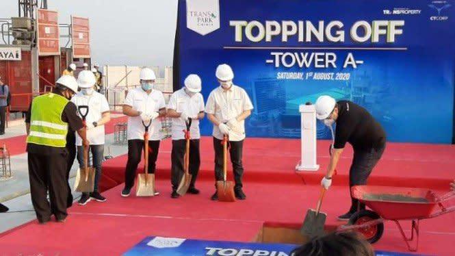 Tower A Transpark Cibubur Serah Terima Kunci Akhir Tahun Ini