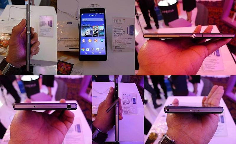 Xperia Z2 Hands on: Sony Xperia Z2 smartphone news mobile gadget