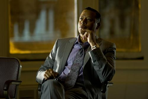 "This film image released by FilmDistrict shows Terrence Howard in a scene from ""Dead Man Down."" (AP Photo/FilmDistrict, John Baer)"