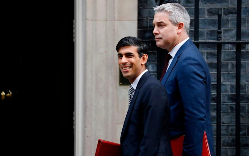 Rishi Sunak and Steve Barclay - AFP