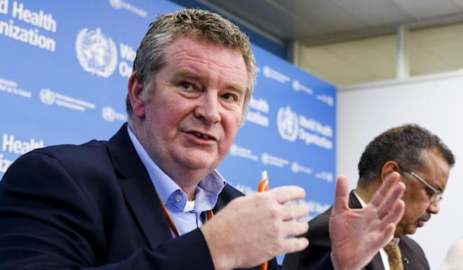 Michael Ryan, executive director of the WHO's Health Emergencies programme, at a press conference in Geneva on Wednesday. Photo: AP