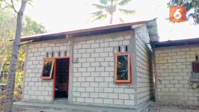 Foto: Rumah warga yang dibedah Pemkot Kupang (Liputan6.com/Ola Keda)