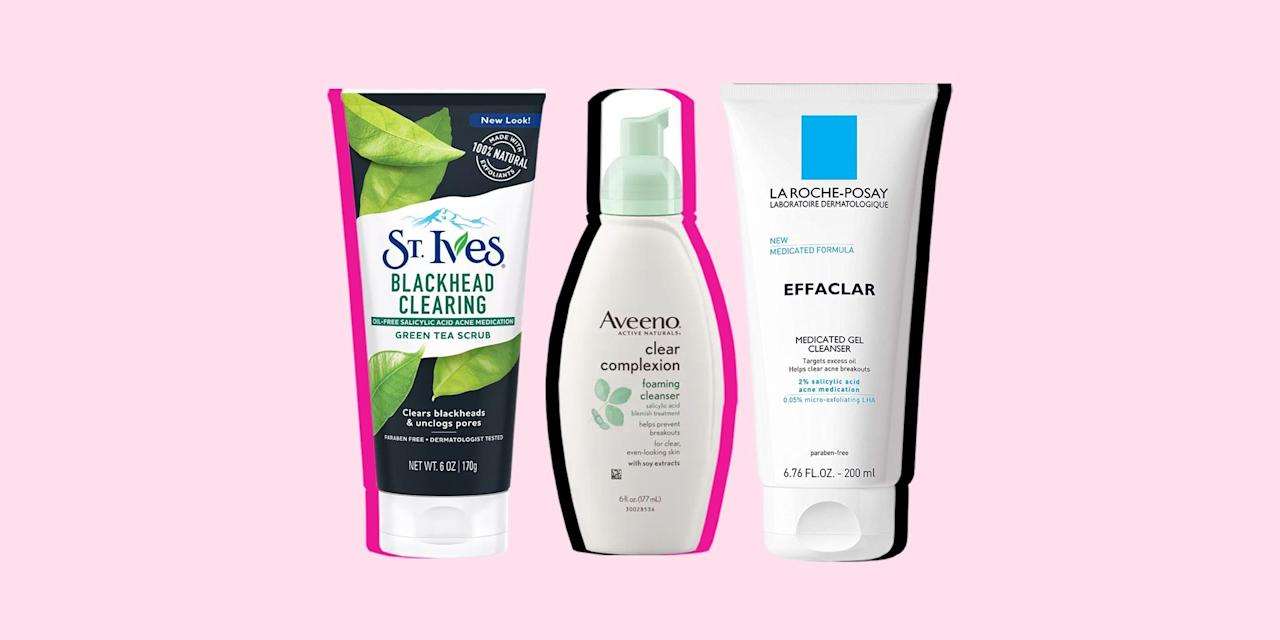 """<p>Trying to pick a cleanser from the rows and rows of options at the drugstore can be kinda overwhelming. There are so many acne face washes to choose from and they all claim to be the best for fighting breakouts. So how can you find the best face wash for your skin – and one that will actually work?</p><p>The key is patience — don't pick up a new cleanser and expect to see dramatic results right away. While you may be able to <a href=""""https://www.seventeen.com/beauty/makeup-skincare/a45990/how-to-get-rid-of-pimples-overnight/"""" target=""""_blank"""">treat a single pimple overnight</a>, it can take weeks before you really see a difference across your whole face. The key: """"It's about trying different brands with different strengths and giving it sufficient time to work,"""" says <a href=""""http://www.dravaliani.com"""">Anna Avaliani, MD</a>, a cosmetic and laser skin care specialist in NYC.</p><p>When you're test-driving a new cleanser, give it a few weeks (four to six, preferably) to see how well it works with your skin. If you're still not wowed by the formula, then go ahead and thank u, next that bottle like you're Ariana Grande.</p><p>Keep in mind, though, that even the best drugstore face washes aren't guaranteed to work for everyone. If your acne is severe and nothing seems to work, hit up a dermatologist. They can help you find a treatment option that works for you. It's literally what they're there for. </p><p>But before you do that, you need to find a good cleanser to start with – and we've got the best right here. Dermatologists spilled that skincare tea on their favorite drugstore face washes for every skin type. Ready to find your new acne-fighting weapon of choice? Just read on. </p>"""