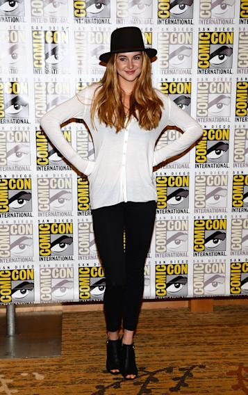 """Enders Game"" And ""Divergent"" Press Line - Arrivals - Comic-Con International 2013"