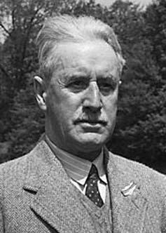 Portrait of writer Jack Jones.