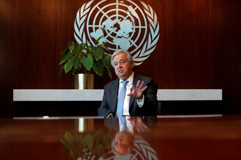 If world handles climate like COVID-19, U.N. chief says: 'I fear the worst'