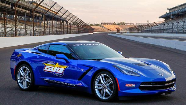 Corvette Stingray named Indy 500 pace car, of course