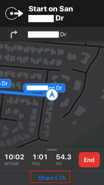 apple maps tips etaa3
