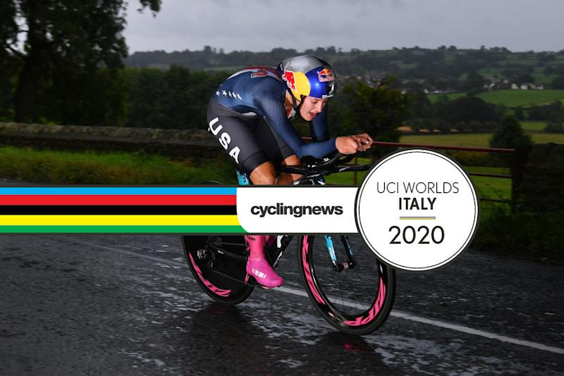 American Chloe Dygert will race at Imola World Championships to defend her TT title