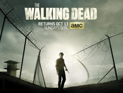 'Walking Dead' Poster: Are Rick and Company Fleeing the Prison? Plus, 4 Menacing Spoilers