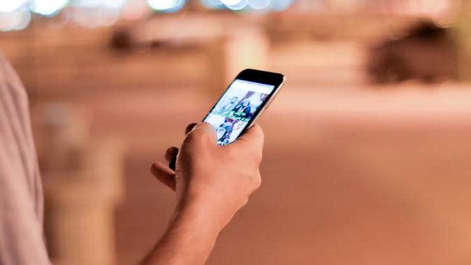 Ilustrasi pengguna smartphone. (Sumber Foto: Pexels)