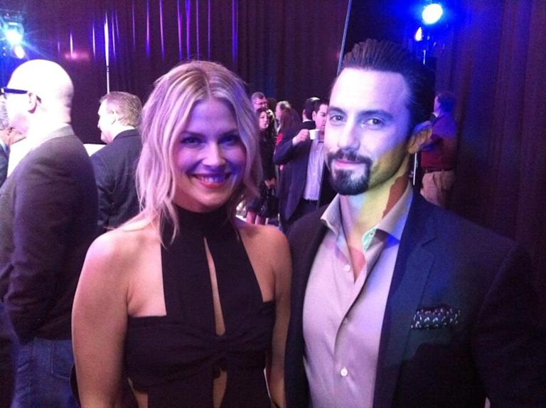 Ali Larter and Milo Ventimiglia