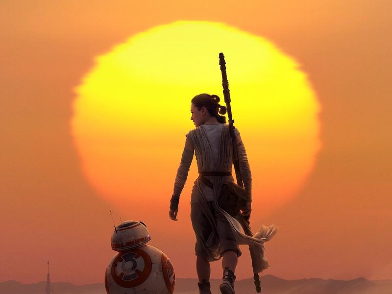《STAR WARS:原力覺醒》黛西蕾德莉