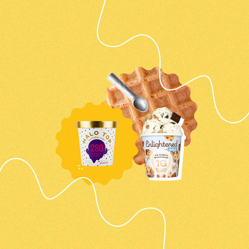 <p>Low-calorie ice cream can be met with a healthy dose of side-eye: Could they <em>really</em> taste as good as the full-fat kind? Could the texture even come close? Concerns aside, with all of the competitors out there, it's hard to know which ones are even worth buying—and which ones belong straight in the trash. That's why we've rounded up the best of the best so you'll know just what you're getting when you pop the lid. </p>