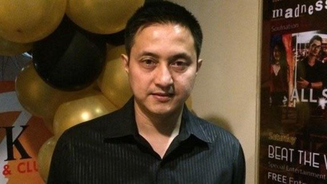 Mantan atlet bulu tangkis Indonesia Ricky Subagja
