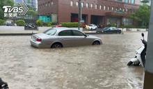 豪雨狂炸! 北市信義區被「淹沒」淪重災區