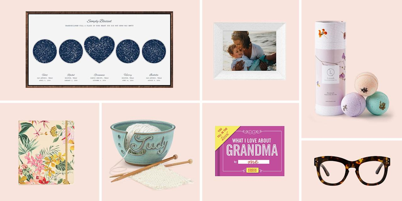 """<p>Celebrating mom on May 10 is pretty much a given, but there's another great matriarch in your life who shouldn't be forgotten while giving gifts. Nana, Mimi, Mamam — whatever you call her — Grandma deserves nothing but the best, and these options will help you treat her to a <a href=""""https://www.bestproducts.com/mothers-day/"""" target=""""_blank"""">Mother's Day she'll remember</a>. From fizzing bath bombs to blossoming bouquets, this guide is full of great ideas that'll show gran what a unique gem she truly is.</p>"""