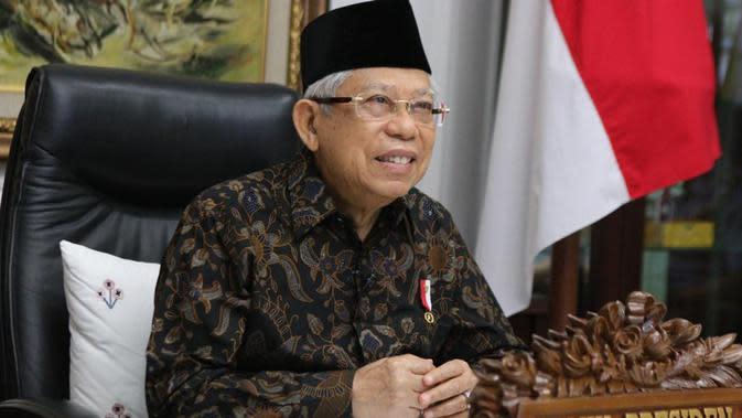 Wakil Presiden Ma'ruf Amin. (Biro Pers Sekretariat Wapres)