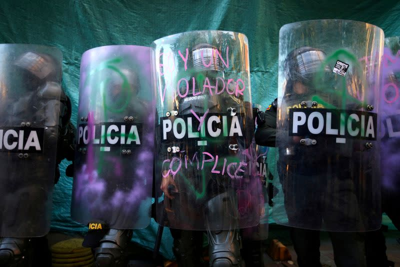 Mayor of Colombia's Bogota calls for reconciliation after deadly protests