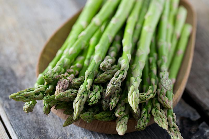 Asparagus season lasts from April to June each year. (Getty Images)