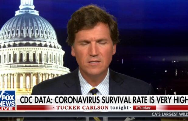 Tucker Carlson Guest Credits Future Vaccine for Lowering Current COVID Death Rates (Video)