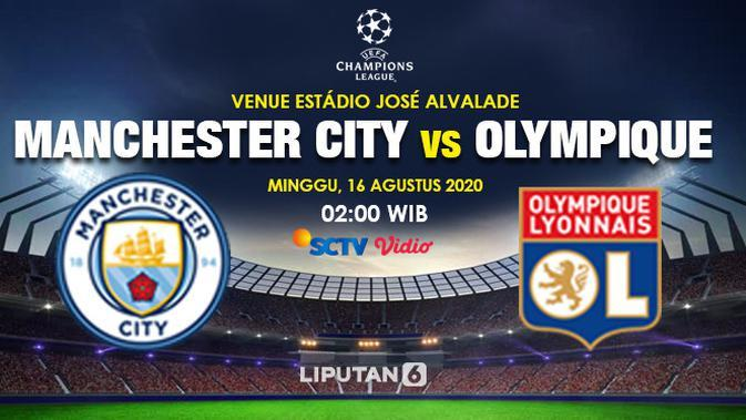 Prediksi Manchester City Vs Olympique Lyonnais (Trie Yas/Liputan6.com)