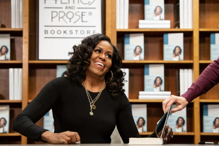 Former US first lady Michelle Obama's memoirs   became a publishing sensation, selling more than two million copies in North America in two weeks