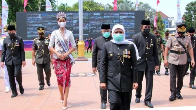 Dipuji Jokowi Soal Penanganan Corona, Khofifah: Hadiah Terindah Jatim