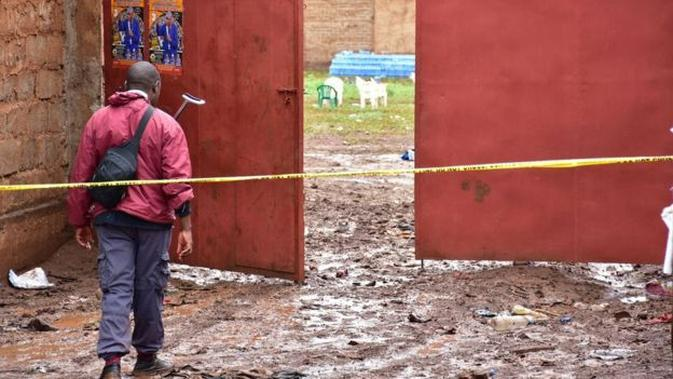 Lokasi tempat dilakukannya ritual keagamaan di Tanzania. (Source: AFP)