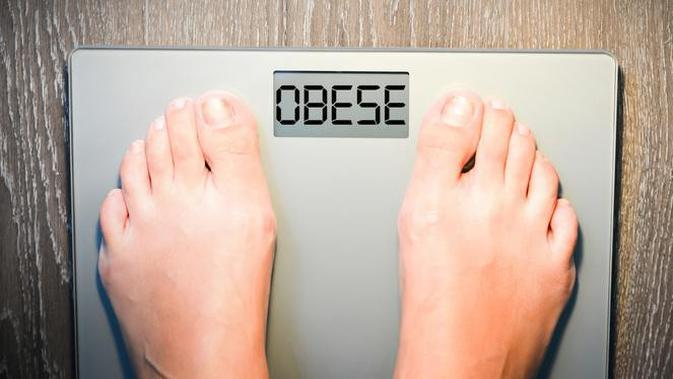 Ilustrasi Badan Gemuk atau Obesitas (iStockphoto)
