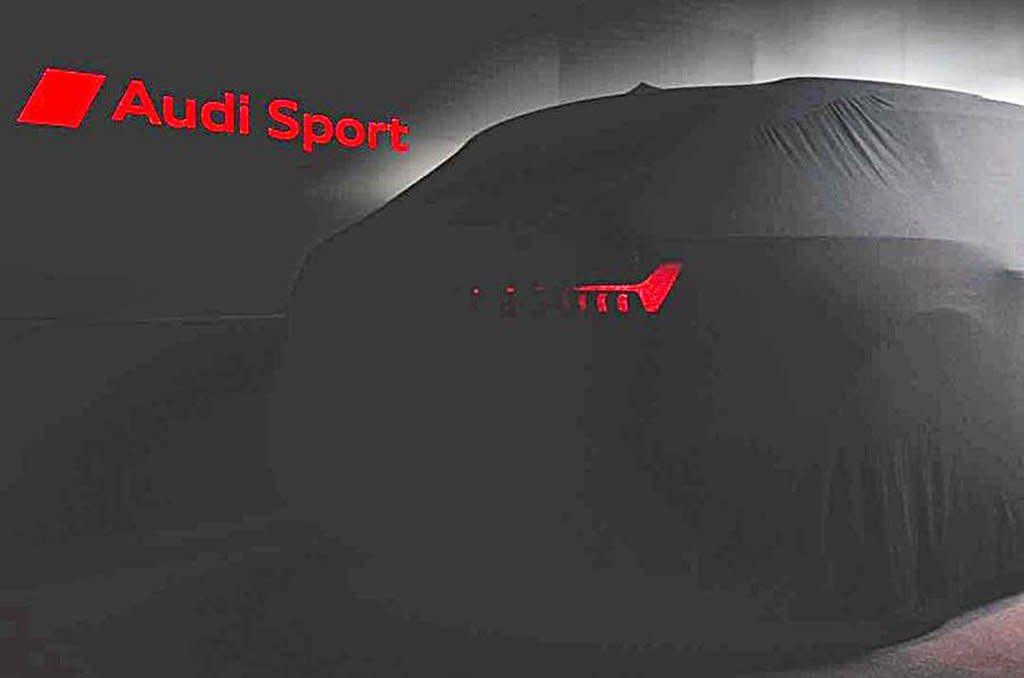 AUDI全新RS6 Avant預告圖釋出,時速0到100加速3.6秒