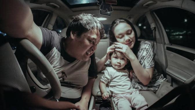 Cecep Reza bersama keluarga (Sumber: Instagram/cecepreza_)