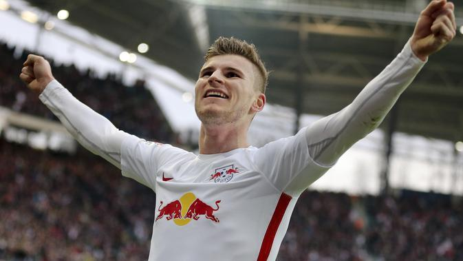 Timo Werner. (AP Photo/Jan Woitas)